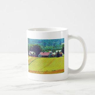 Granja de la granja taza de café
