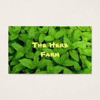 Granja de la hierba tarjetas de visita