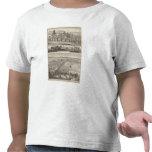Granja de la huerta, casa de campo de Somerville Camisetas