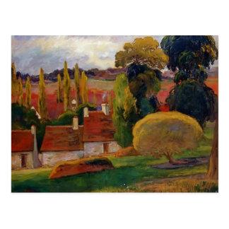 Granja de Paul Gauguin- en Bretaña Tarjetas Postales