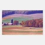 Granja de Pennsylvania en otoño Rectangular Altavoces