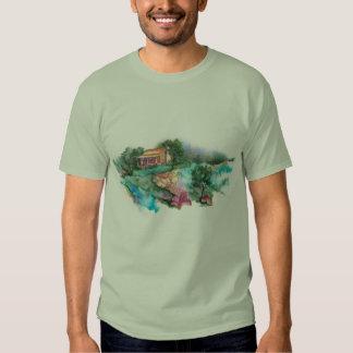 Granja de PMACarlson, camiseta de las montañas de Remera