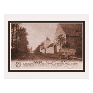 Granja de Waterloo del vintage del soporte Tarjetas Postales