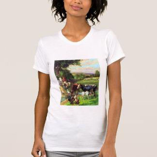 Granja del vintage camiseta