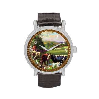Granja del vintage reloj