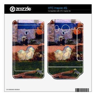 Granja en el Pouldu de Eugène Enrique Paul Gauguin HTC Inspire 4G Skins