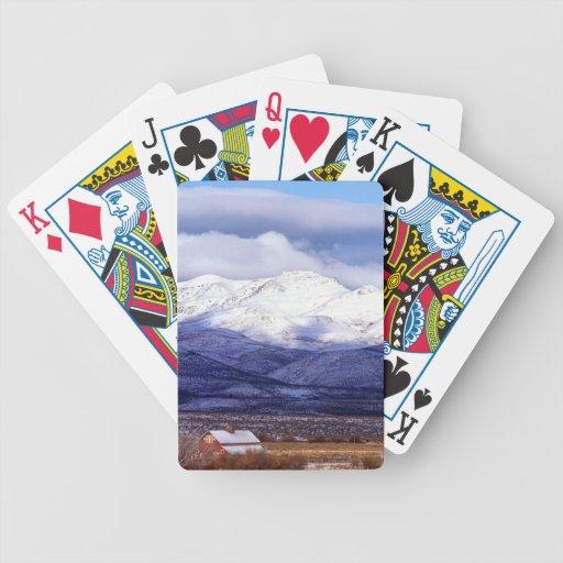 Granja en las montañas Idaho de Owyhee Barajas De Cartas