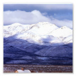 Granja en las montañas Idaho de Owyhee Foto