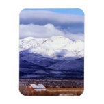 Granja en las montañas Idaho de Owyhee Imán Flexible