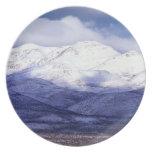 Granja en las montañas Idaho de Owyhee Plato De Comida