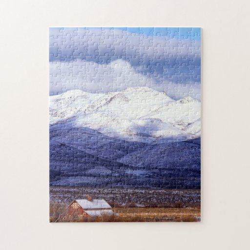 Granja en las montañas Idaho de Owyhee Puzzles Con Fotos