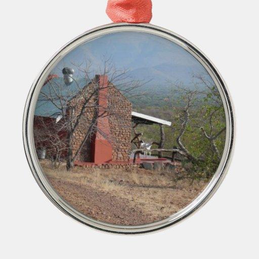 Granja en Thabazimbi, Suráfrica Adorno Navideño Redondo De Metal