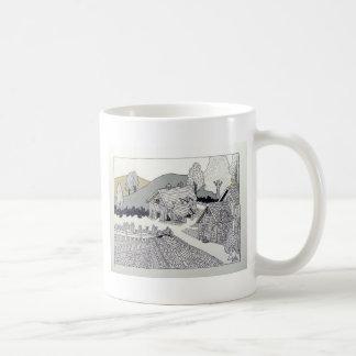 Granja en Vermont por Piliero Tazas