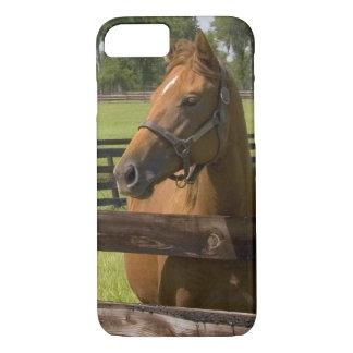 Granja excelente del caballo en el condado de funda iPhone 7
