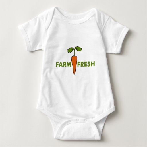 Granja fresca body para bebé