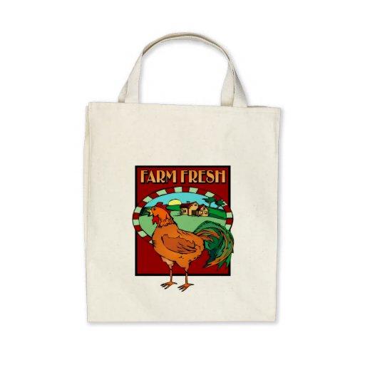 Granja fresca bolsa de mano