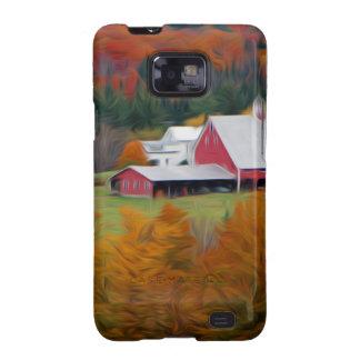 Granja hueco del norte, Vermont Samsung Galaxy SII Funda