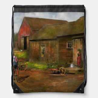 Granja - vida en los años 40 de la granja mochilas