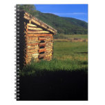 Granja vieja del registro cerca de Park City, Utah Libro De Apuntes