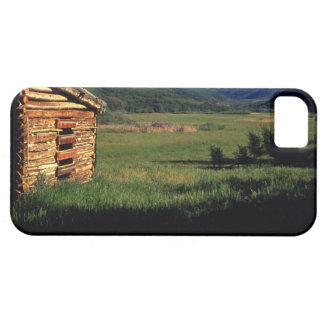Granja vieja del registro cerca de Park City, Utah iPhone 5 Case-Mate Cárcasas