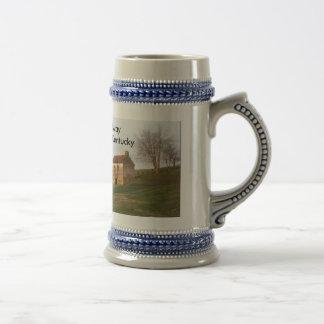Granja vieja - Woodford Co KY., intermediario, Jarra De Cerveza