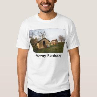 Granja vieja - Woodford Co KY., Kentucky Playeras