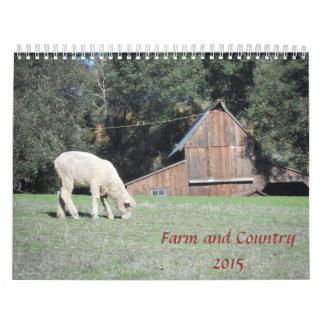 Granja y país 2015 calendario