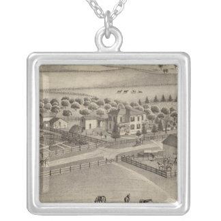 Granja y residencia comunes Benton Tp del remolin Collar Personalizado