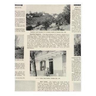 Granjas de Sonoma California Tarjetas Postales