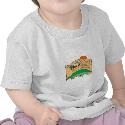 Granjas del Local de la ayuda Camiseta