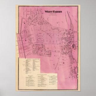 Granjas del oeste póster