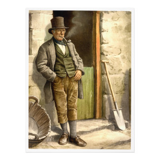 Granjero campesino irlandés 1890 cojinete