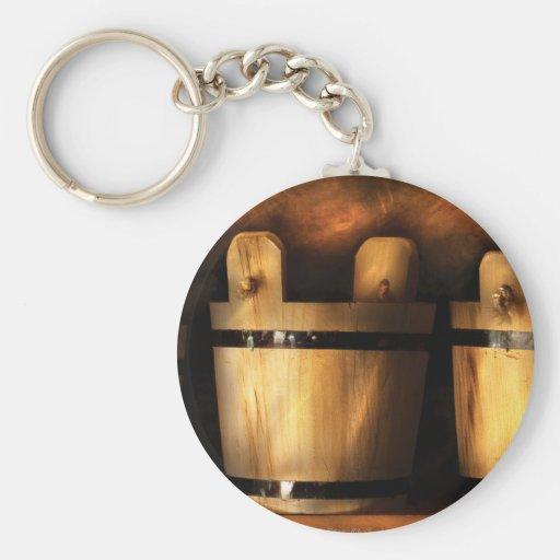 Granjero - cubos para la venta llavero redondo tipo pin