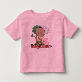 Granjero de bebé con las camisetas y los regalos playera