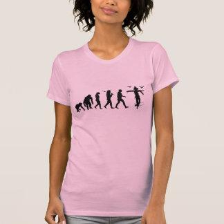 Granjero de la agricultura que cultiva el cuervo camiseta