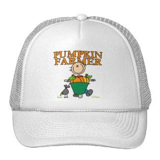 Granjero de la calabaza gorra