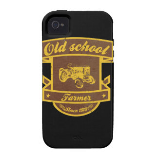 Granjero de la escuela vieja funda iPhone 4