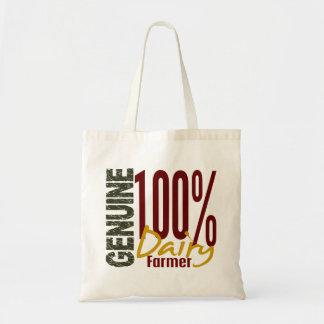 Granjero de lechería auténtico bolsa tela barata