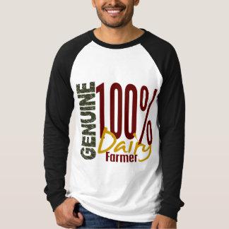 Granjero de lechería auténtico camisas