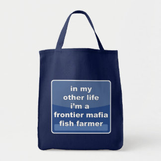 Granjero de los pescados de la mafia de la bolsa tela para la compra
