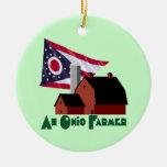 Granjero de Ohio Adornos De Navidad