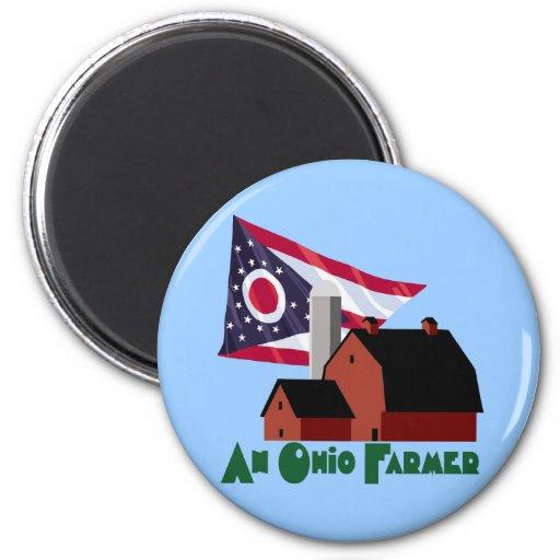 Granjero de Ohio Imán De Frigorifico