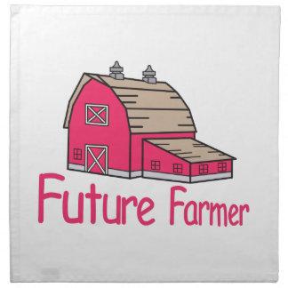 Granjero futuro servilleta de papel