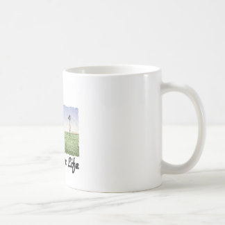 Granjero para la vida tazas de café
