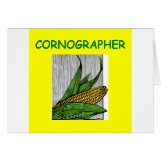 granjero tarjeta de felicitación