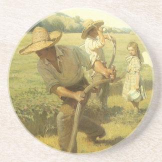 Granjeros del vintage, de nuevo a la granja por NC Posavasos Diseño