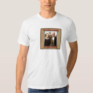 Granjeros góticos del salterio - la camiseta de remera