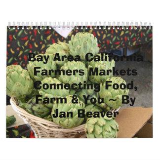 Granjeros MarketsCo de California del área de la Calendarios De Pared