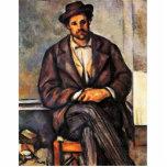 Granjeros sedentarios de Paul Cézanne (la mejor ca Escultura Fotografica