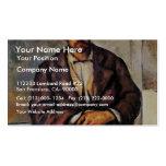Granjeros sedentarios de Paul Cézanne (la mejor ca Tarjetas De Visita